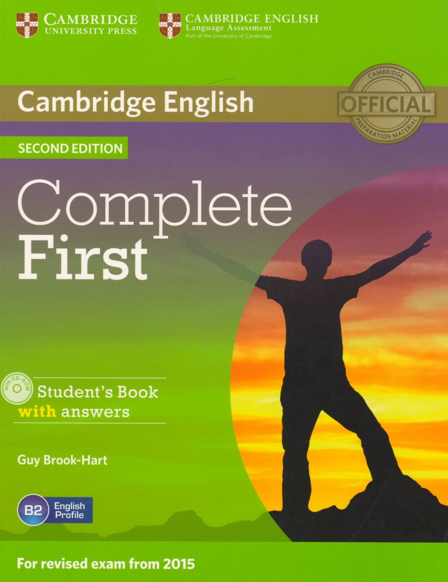 Complete First Student's Book with Answers with CD-ROM 2nd Edition