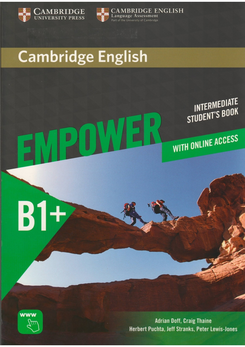 Cambridge English Empower Intermediate Student's Book with Online Assessment and Practice and Online Workbook