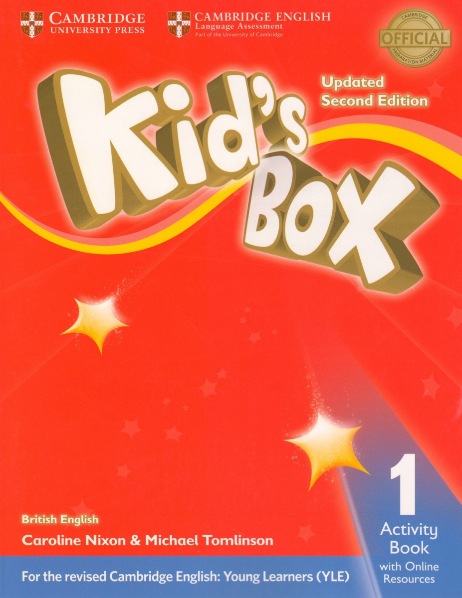 Kid's Box Level 1 Activity Book with Online Resources British English 2nd Edition
