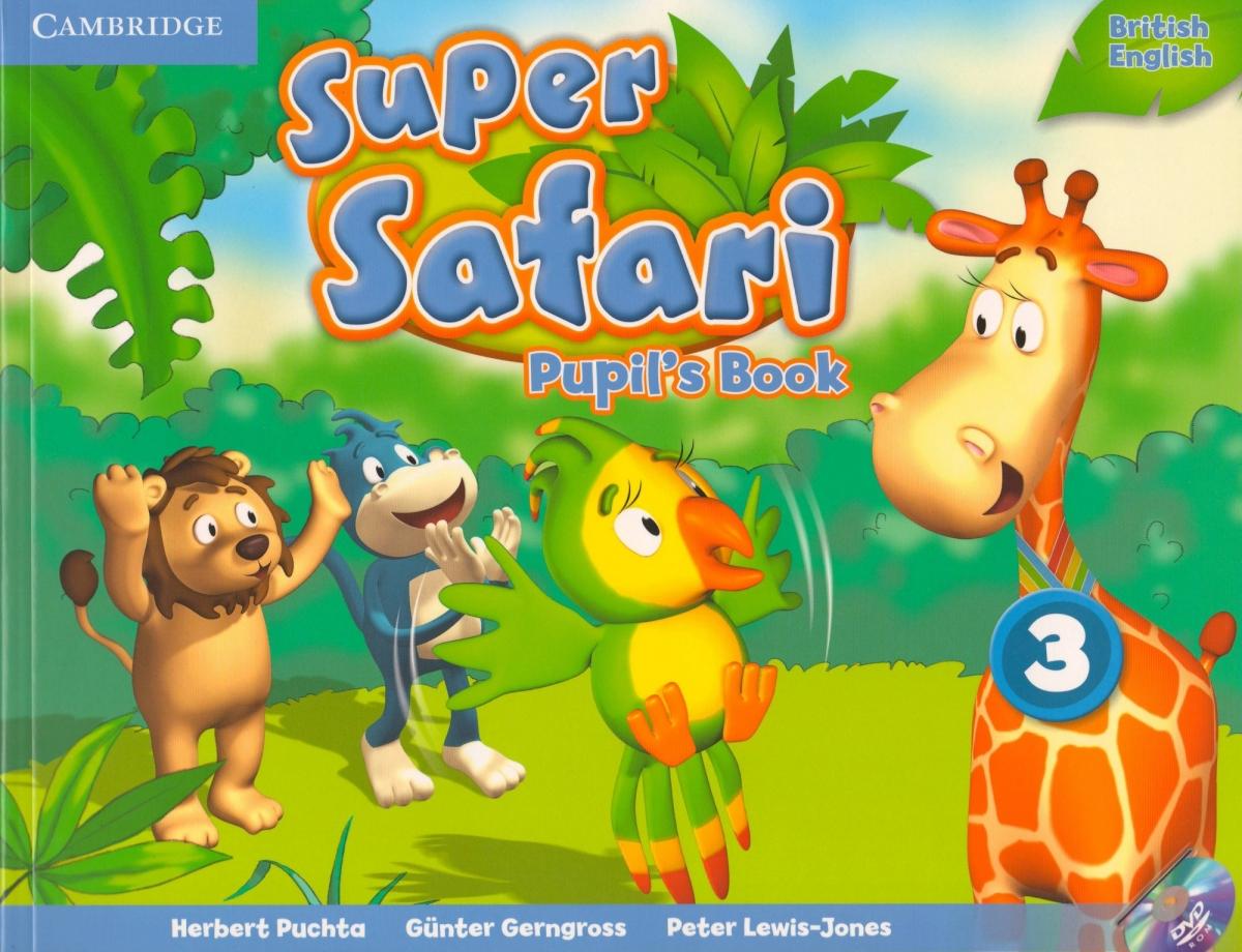 Super Safari Level 3 Pupil's Book with DVD-ROM