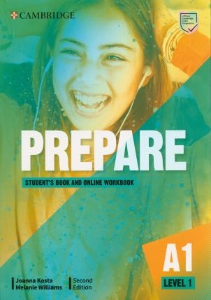 Prepare Level 1 Student's Book with Online Workbook