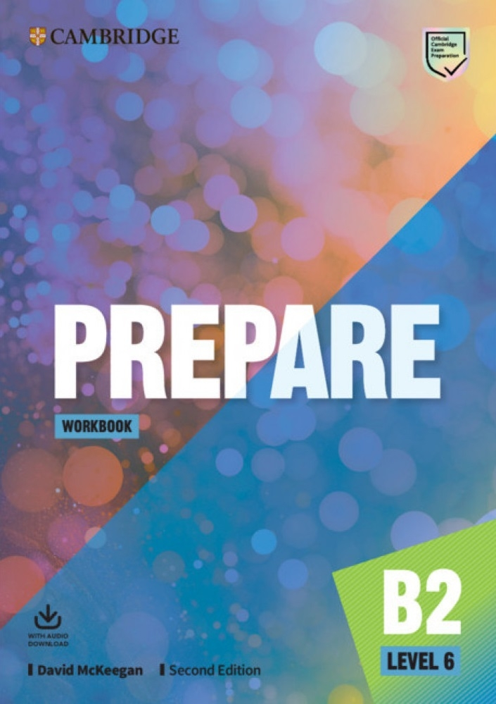 Prepare Level 6 Workbook with Audio Download