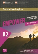 Cambridge English Empower Upper Intermediate Student's Book with Online Assessment and Practice, and Online Workbook