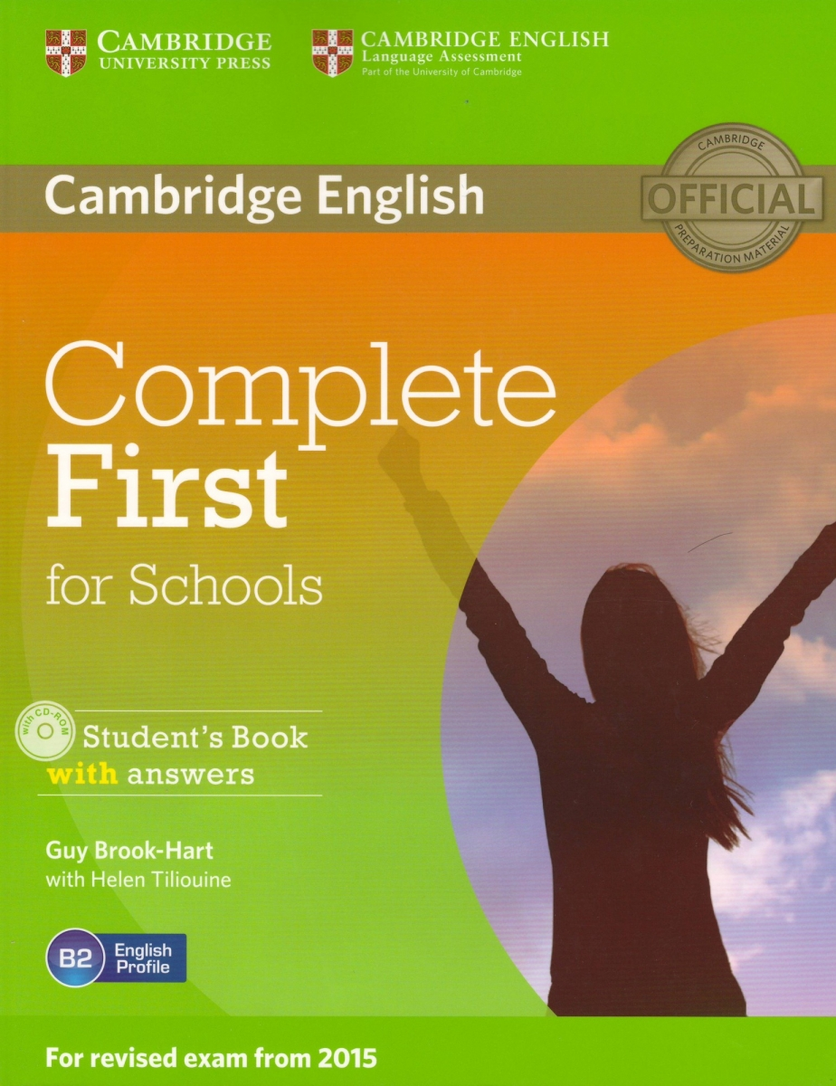 Complete First for Schools Student's Book with Answers with CD-ROM