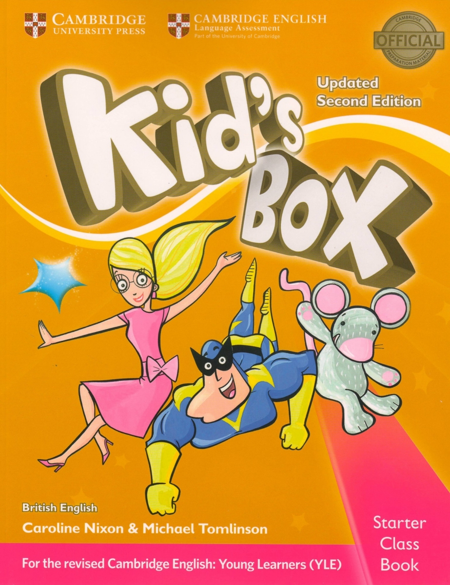Kid's Box Starter Class Book with CD-ROM British English 2nd Edition