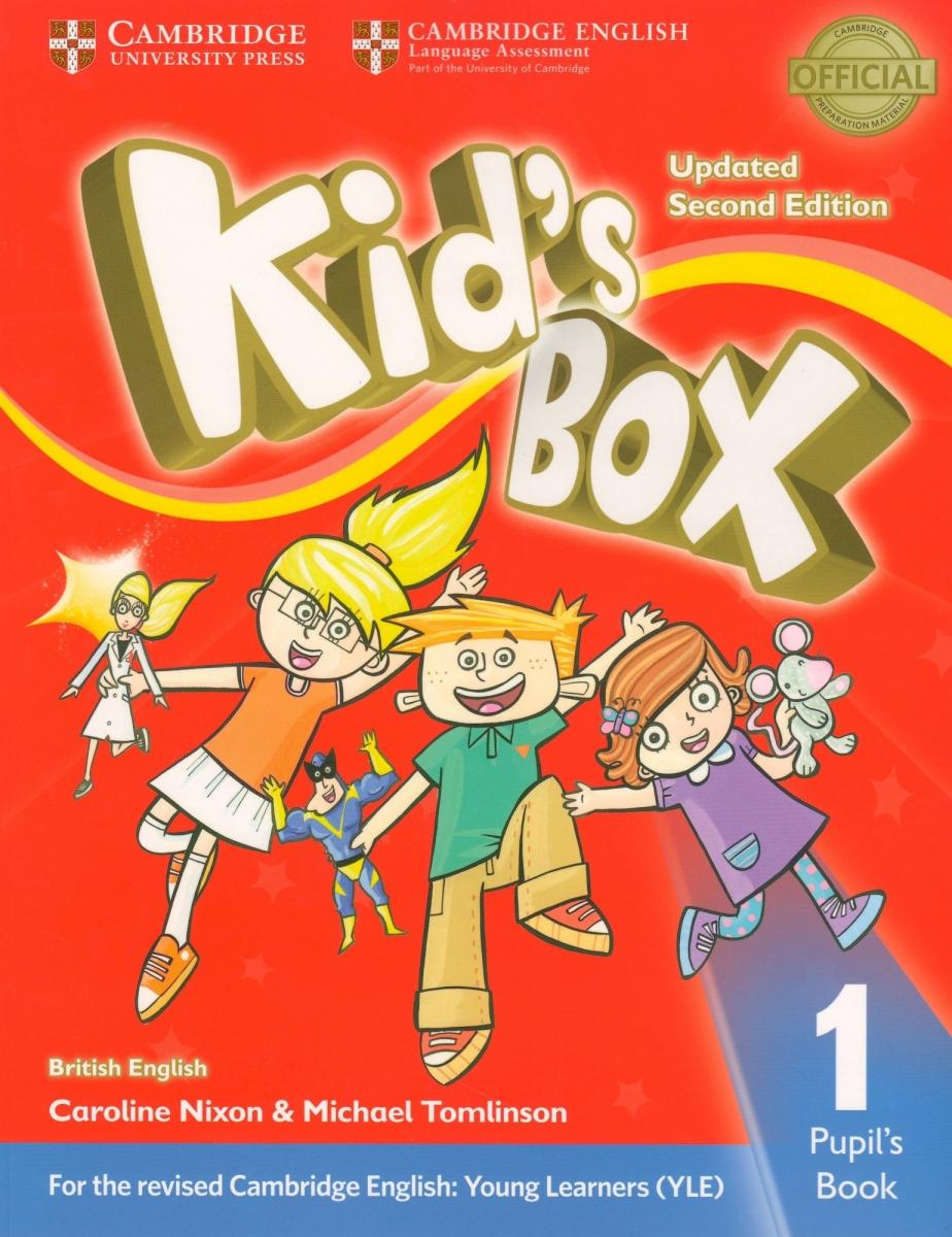 Kid's Box Level 1 Pupil's Book British English 2nd Edition