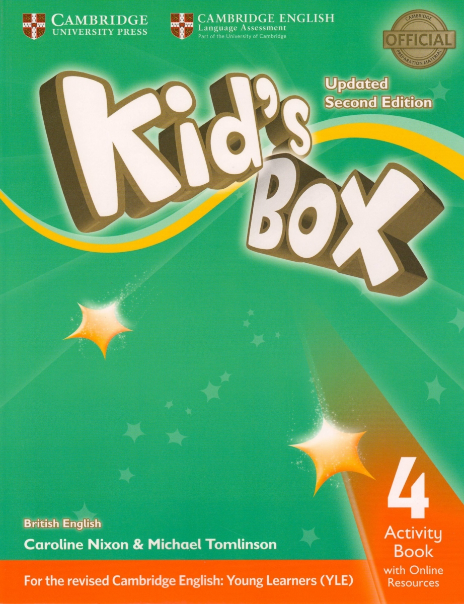 Kid's Box Level 4 Activity Book with Online Resources British English 2nd Edition