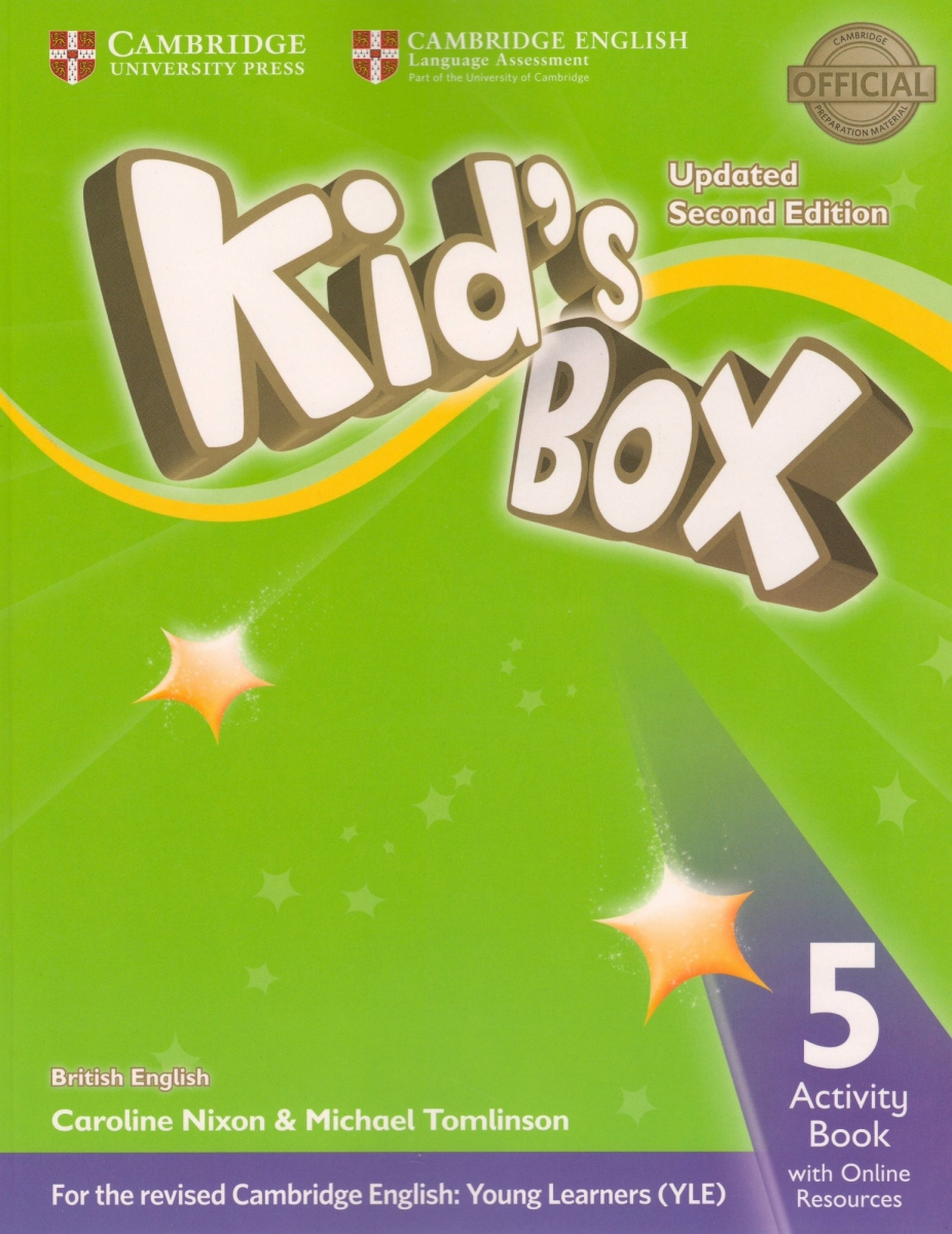 Kid's Box Level 5 Activity Book with Online Resources British English 2nd Edition