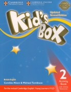 Kid's Box Level 2 Activity Book with Online Resources British English 2nd Edition