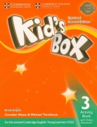 Kid's Box Level 3 Activity Book with Online Resources British English 2nd Edition